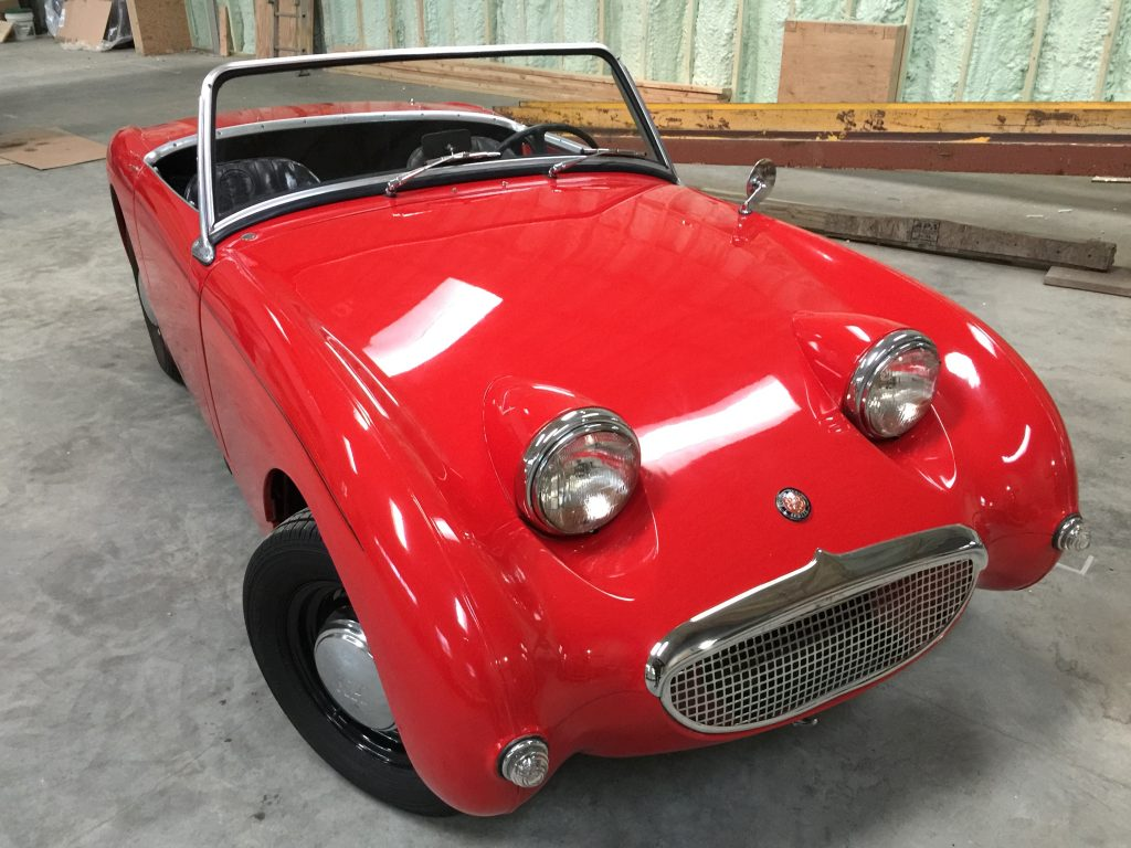 1960 Austin Healey Sprite Mark 1 for sale-Sweet red driver!