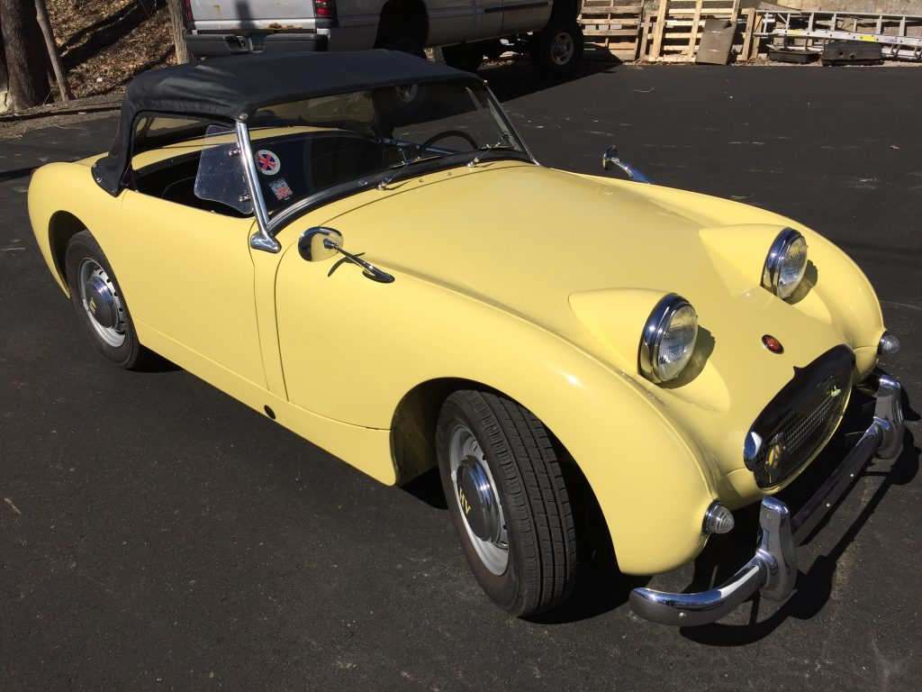1960 Fantastic restored Austin Healey Bugeye Sprite for sale! Video drive!