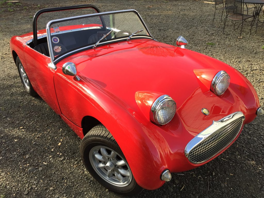 1959 Austin Healey Sprite, restored with automatic transmission! NEW VIDEO Test drive!