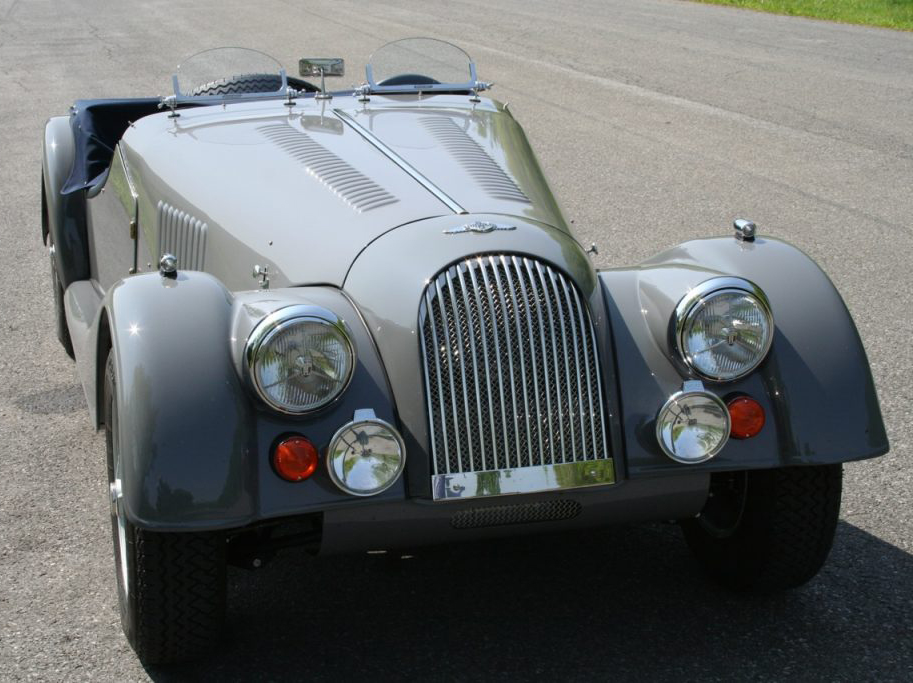 1970 Morgan SUPER Plus 8 for sale, modified, improved, blissful.