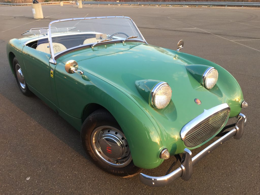 1958 Excellent Restored Leaf Green 1275 Bugeye Sprite for sale ...