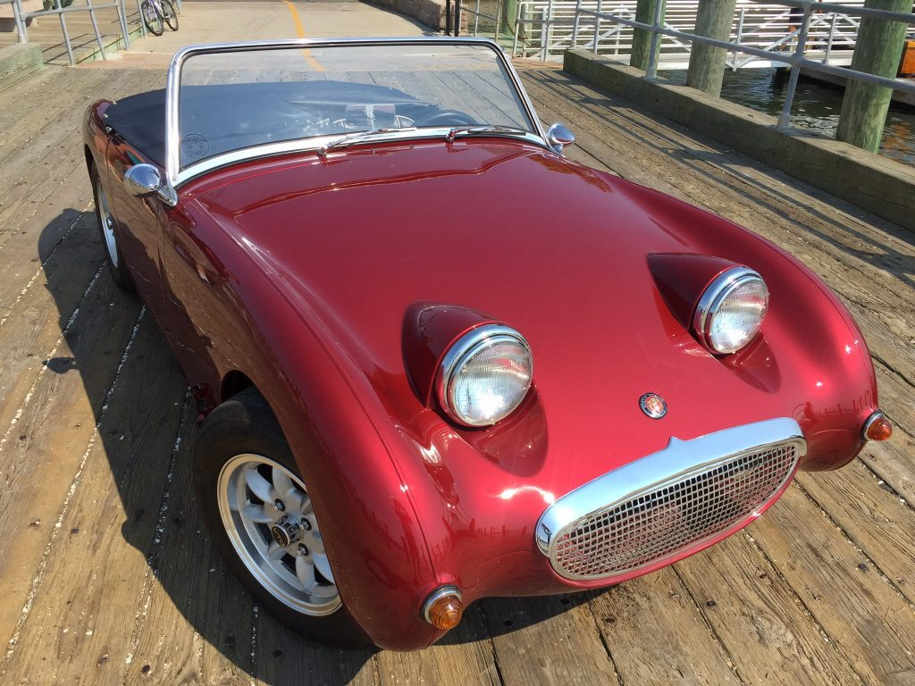 Striking restored 1959 Austin Healey Sprite Mark 1 for sale!