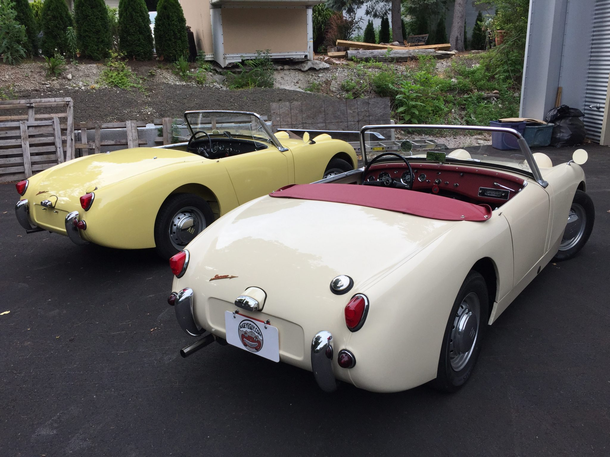 two stunning austin healey bugeye sprites with choice simple house wiring diagram 1959 austin healey bugeye sprite for