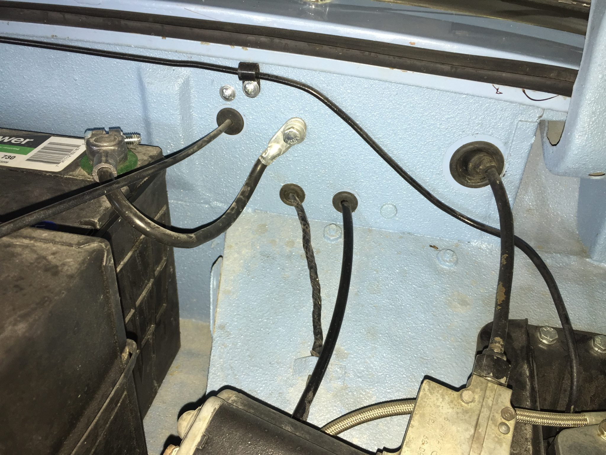 How To Make A Bugeye Sprite Tach Cable Fit Tachwiringdiagram Rebuilt Underdash Wiring This Routing Will Put Undue Kinks In The Behind Instrument And It More Likely That Your Gauge Be Jumpy