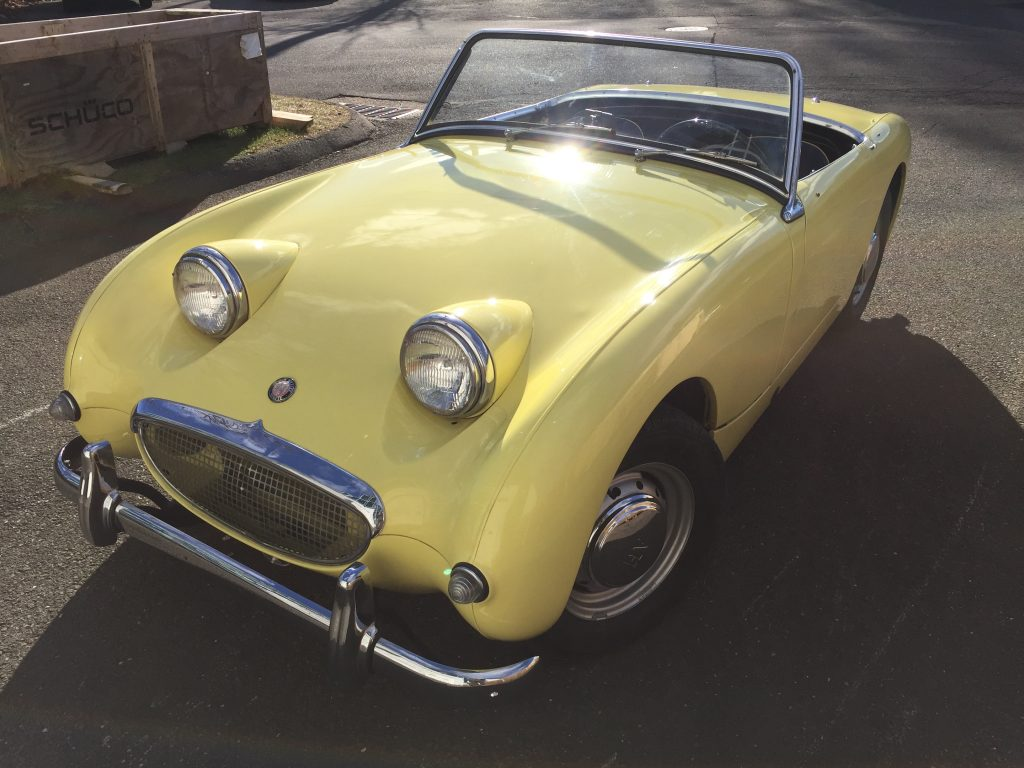 Restored 1959 Bugeyed Sprite for sale!