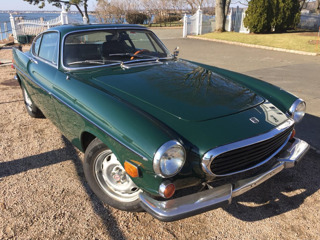 64K mile 1971 Volvo 1800E for sale, overdrive!