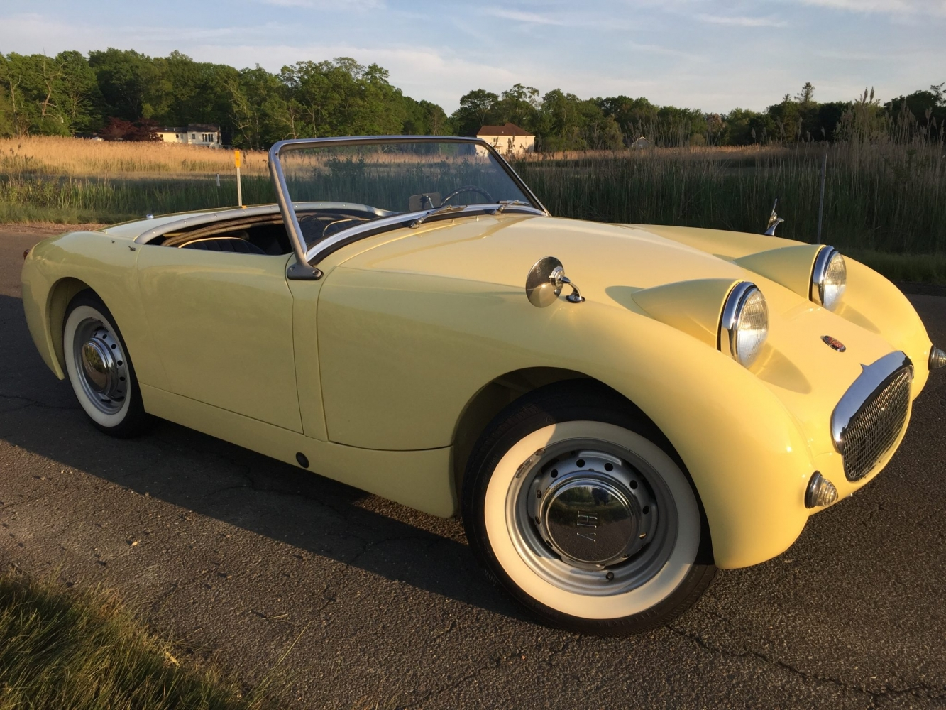 Restored Primrose 1960 Austin Healey Bugeye Sprite for sale