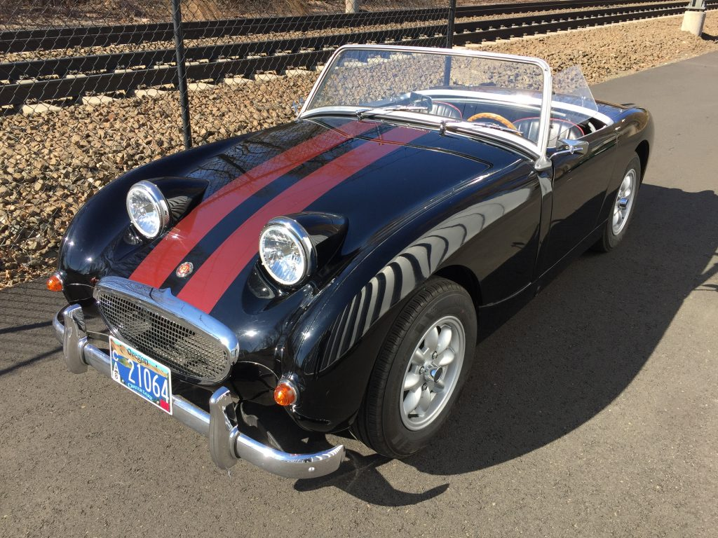 1960 Bugeye Sprite for sale-supercharged temptress!