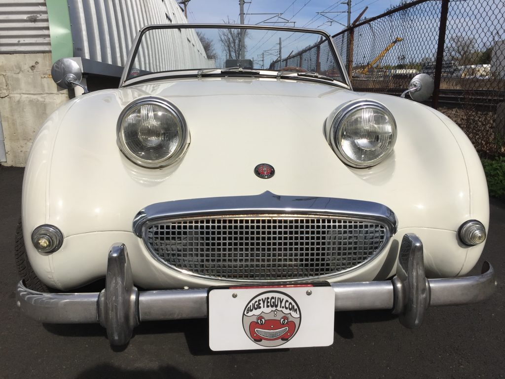 Great 1960 Austin Healey Bugeyed Sprite Driver for sale