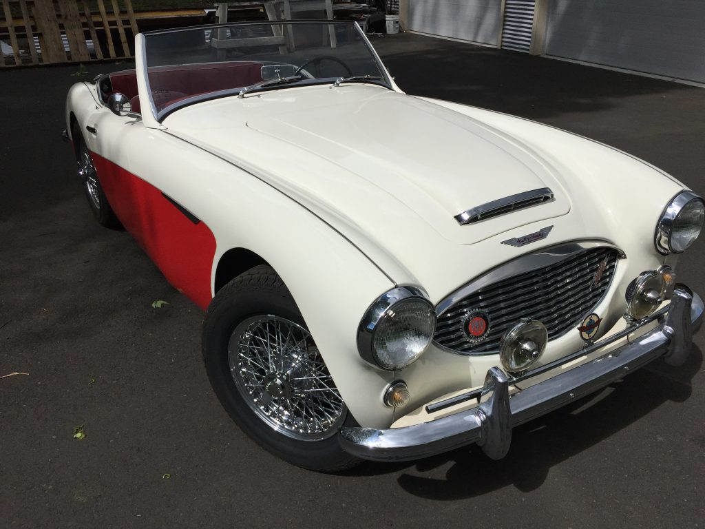 1960 Austin Healey 3000 Mark 1 BT7 for sale-ultimate driver