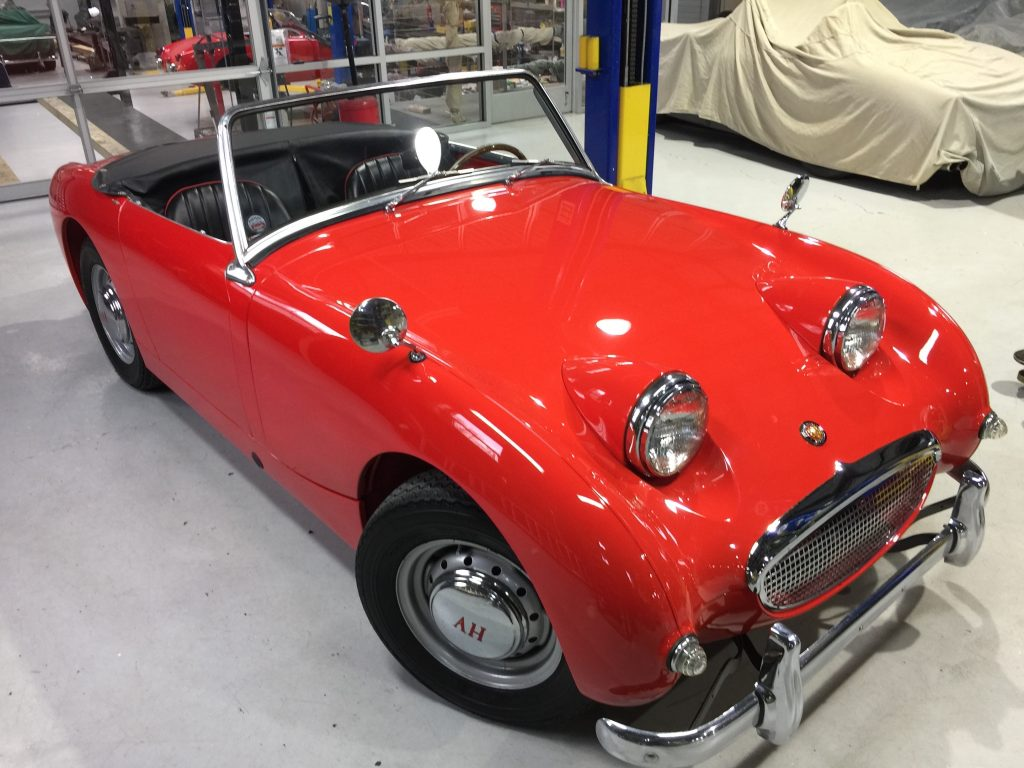 Best of the best 1959 Bugeye Sprite for sale