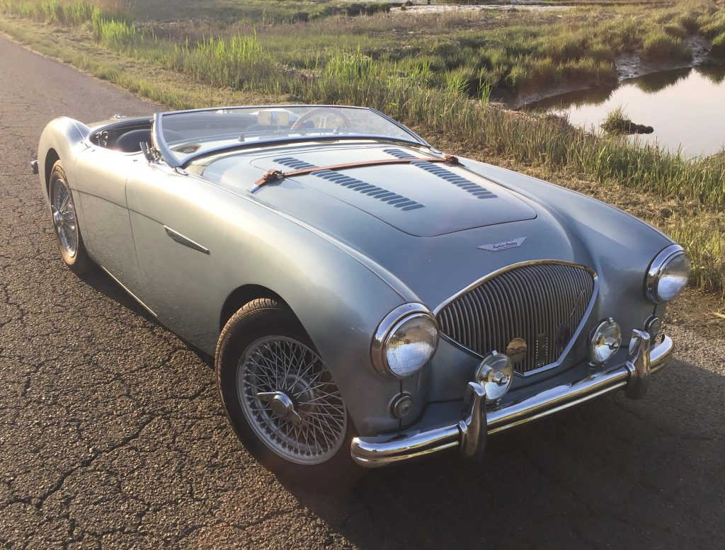 1956 Austin Healey Lemans spec 100 BN2 for sale, video drive!