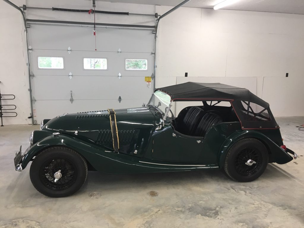 Super cool 1965 Morgan Plus 4 for sale