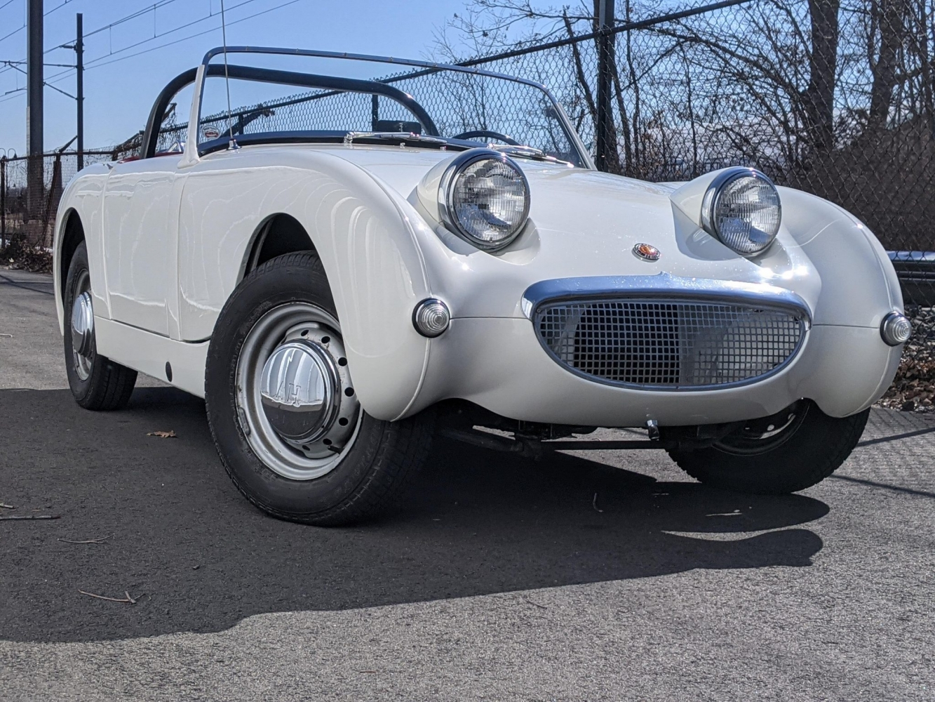 Swell 1958 Bugeye with 1275 and Disc Brakes for Sale!